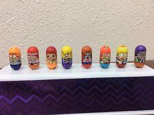 Mighty Beans Lot Of 8 Highschool Themed Cheerleader Nerd Bully Study Bean #4