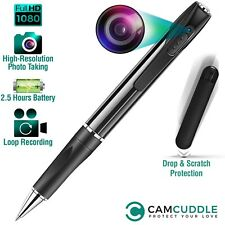 32GB Spy Hidden Camera Pen HD 1080P Video/Voice Camcorder Security Mini Body Cam
