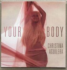 CHRISTINA AGUILERA * YOUR BODY - REMIXES * US 8 TRK PROMO * HTF * LOTUS