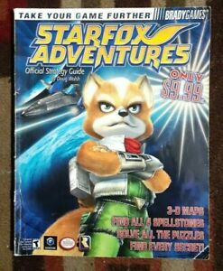Star Fox Adventures Bradygames Official Strategy Game Guide