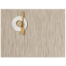 Chilewich placemats and coasters (set of 4) Bamboo Oat