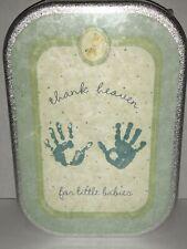 Child of Mine Carters Babys Plaster Hand Foot Print Baby Keepsake Kit Mold D1
