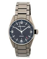Georg Jensen Men's Delta Classic GMT PVD Steel Black Dial Watch 3575606 R$2,550