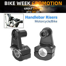 7/8'' 22mm 28mm Motorcycle HandleBar Riser Handle Fat Bar Mount Clamps Universal