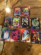 1992 Marvel 10 Trading Cards