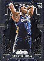 Insane Basketball NBA Hot Pack Prizm Silver Zion Williamson RC *Read*