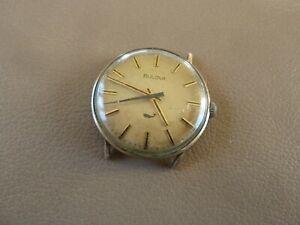 Vintage Bulova Men's Wristwatch - Running
