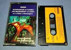 THE MESSENGERS GOSPELGROUP EN COMBO PAPER LABELS cassette tape album A1060