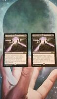 2x Leyline of the Void Magic the Gathering MTG M/NM Lot Core Set 2020 M20 Card