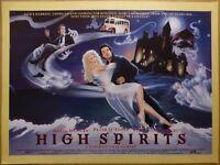 HIGH SPIRITS (1988) - original UK quad film/movie poster, Daryl Hannah, comedy