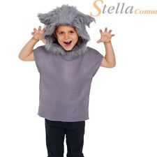 Child Wolf Costume Boys Girls Halloween Book Week Fancy Dress Outfit