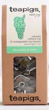 Chocolate & Mint - Tea Pigs - 15 Biodegradable Tea Temples - Chocolate Mint