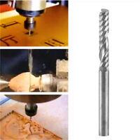 10pcs Carbide Flat Nose End Mill Cutter Set CNC Single Flute Router Bits 3mm