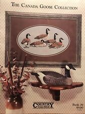 The Canada Goose Collection - Country Cross-Stitch Pattern Leaflet