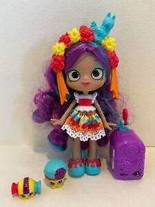 Shopkins Shoppies ROSA PINATA Doll- World Vacation Travel Mexico w/ 2 exclusives