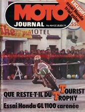 MOTO JOURNAL  464 HONDA Gold Wing GL 1000 1100 Vespa 80 Tourist Trophy 1980