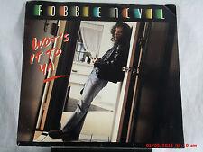ROBBIE NEVIL b-(45 W/PIC. SLEEVE)-WOT'S IT TO YA / (TO YA REMIX)-MANHATTAN -1987