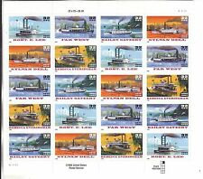 {BJ stamps}  #3091 -5b 32¢ special Die cut variety  Riverboats,1996 much scarcer