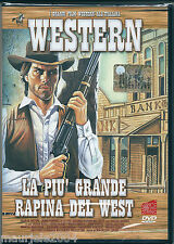 La più grande rapina del West (1967) DVD NUOVO George Hilton. Augusto Caminito.