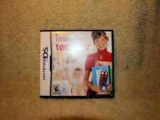 IMAGINE TEACHER --- NINTENDO DS Complete CIB w/ Box, Manual 2008-MINT!