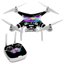Skin Decal for DJI Phantom 3 Professional Drone / Colorful Galaxy Space Cat