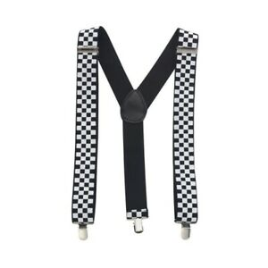 Mens Ladies Unisex Childrens Police Officer Slim Braces Suspenders Fancy Dress