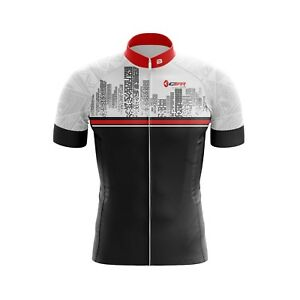Men Jersey Bicycle Sportswear Top Cycling Clothing Short sleeves city jersey