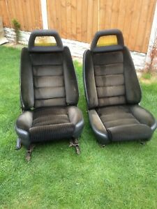 Vintage Rare Alfa Romeo 2.0 GTV front fishnet seats headrest are not for sale