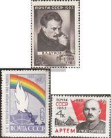 Sowjet-Union 2859,2860,2861 (kompl.Ausg.) postfrisch 1963 Sondermarken