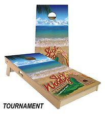 Slick Woody's Bikini Surf Cornhole Board Game Set - Made in the USA!