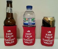 Wales gift  him/her Can/Bottle Cooler Football, Rugby,BUY 2 GET 1 FREE!