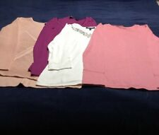 Lot Of Four Woman's Shirts Size Small