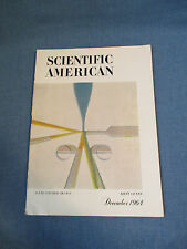 Vintage Scientific American Magazine December 1964