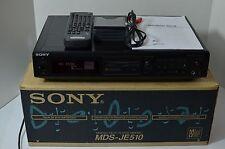 Sony MDS-JE510 Mini Disc Deck - Original Box, Remote and Manual - Sony MiniDisc