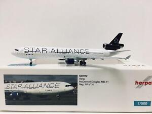 Herpa Wings Varig McDonnell Douglas MD-11 1:500 PP-VTH 527972