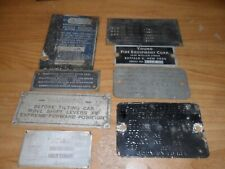 Serial Tags and body tags. misc. lot free shipping Lot#3