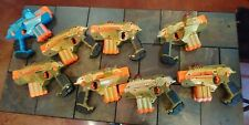 Tiger Electronics LAZER TAG Team Ops Deluxe Laser GUN - LOT OF 8- Tested!