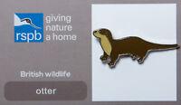 RSPB Pin Badge | Otter | GNaH [00396]