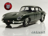 Jaguar E-Type Green 1962 Year Sports Car 1/43 Scale Collectible Diecast Model