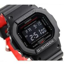 CASIO G-Shock, DW5600HR-1 DW-5600HR-1, BLACK & RED SERIES, DIGITAL, UNISEX