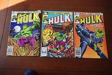 Incredible Hulk 273, 274, 275 lot of 3 Bronze Age comics!