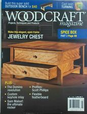 Woodcraft Magazine April May 2017 Make This Jewelry Chest FREE SHIPPING sb