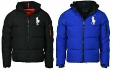 Men Polo Ralph Lauren DOWN Fill Jacket Winter Coat Black Blue Elmwood Worth
