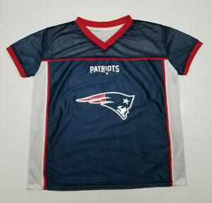 NFL New England Patriot Play 60 Reversible Flag Football Jersey-Youth Size