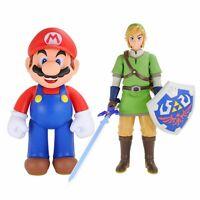 World of Nintendo Super Mario / Zelda Link XXL 50cm große bewegliche Figur NEU