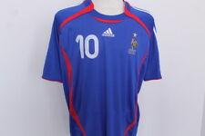 Maillot FRANCE 2006 ZIDANE TBE Taille XL - Shirt  Football