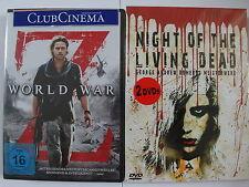 World War Z + Night of the Living Dead - Brad Pitt, A. Romero, Zombie Sammlung