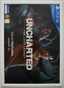 Uncharted: The Lost Legacy RARE PS4 42cm x 59cm Promotional Poster #1
