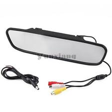 "4.3"" TFT LCD Monitor Car Reverse Rear View Mirror for Backup parking Camera"