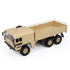 JJRC Q64 1 / 16 2.4g 6wd RC Car Military Truck Rock Crawler Car - Champagne